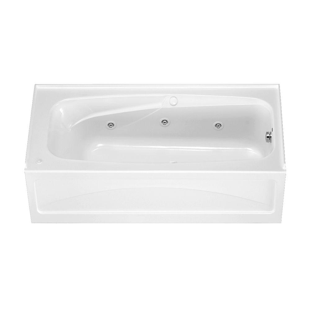 Colony 5.5 ft. x 32 in. Right Drain Whirlpool Tub with