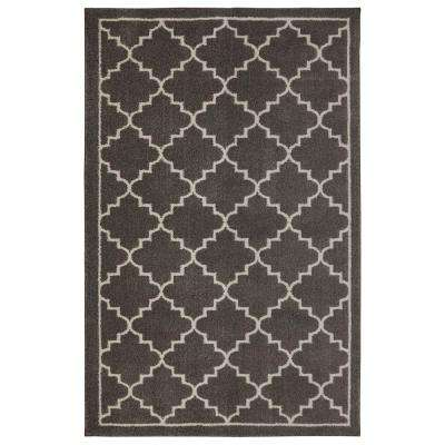 Winslow Walnut 4 ft. x 6 ft. Indoor Area Rug