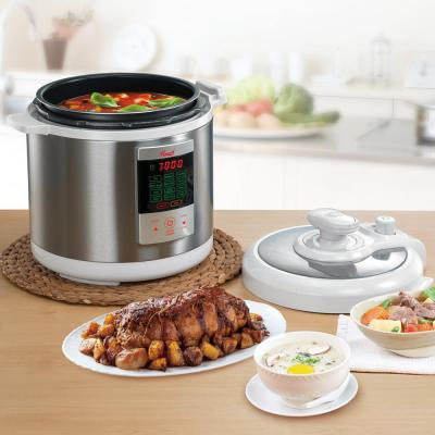 Rosewill-7-in-1 Multi-Function 6.3 Qt. White Stainless Steel Electric Pressure Cooker