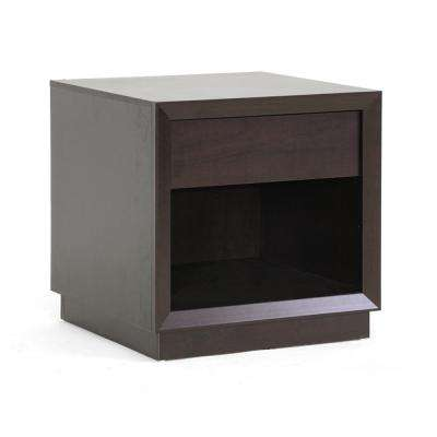 Girvin Dark Brown End Table