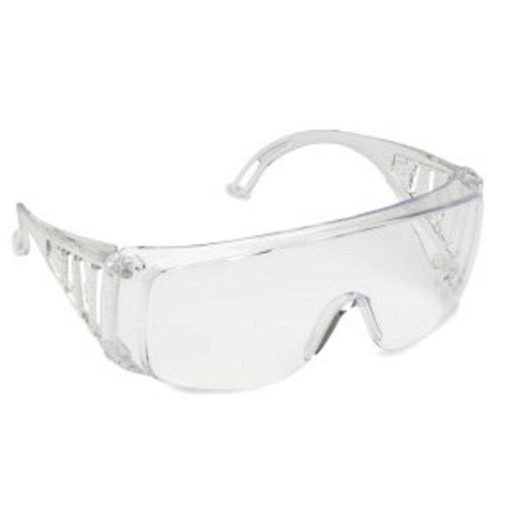 7851fd5fcb Slammer Clear Wraparound Over-the-Glasses Safety Eyewear (6-Pair DIY Pack)