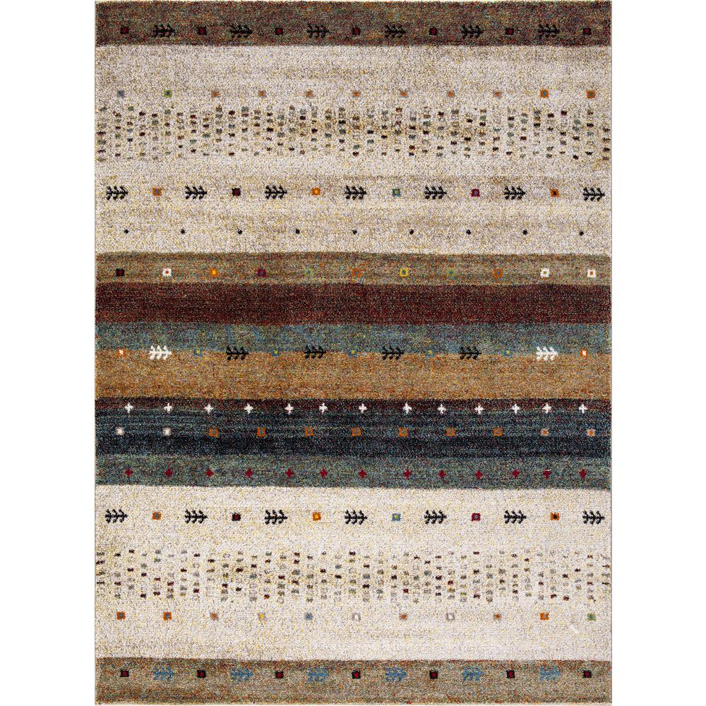 Concord Global Trading Diamond Gabbeh Beige 8 Ft X 11 Ft