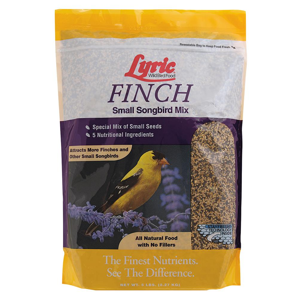 5 lb. Finch Small Songbird Wild Bird Mix