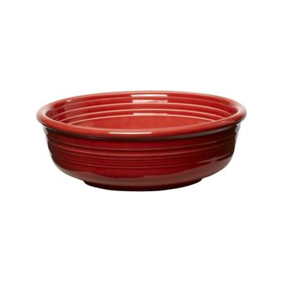 5-3/8 in. 15 oz. Scarlet Ceramic Small Bowl