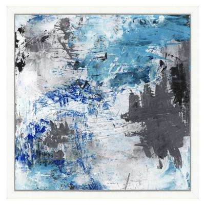 """""""Eclectic abstract painting II"""" Framed Archival Paper Wall Art (20 in. x 20 in. Full Size)"""