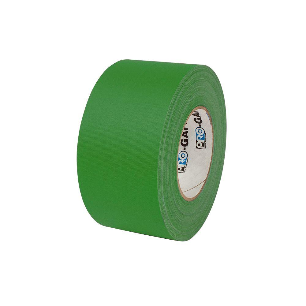Pratt Retail Specialties 3 in. x 55 yds. Green Gaffer Industrial Vinyl Cloth Tape (3-Pack)