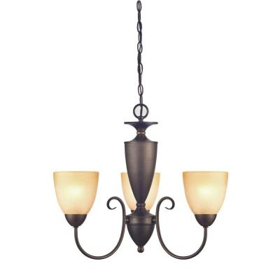Chapel Hill 3-Light Oil Rubbed Bronze Chandelier