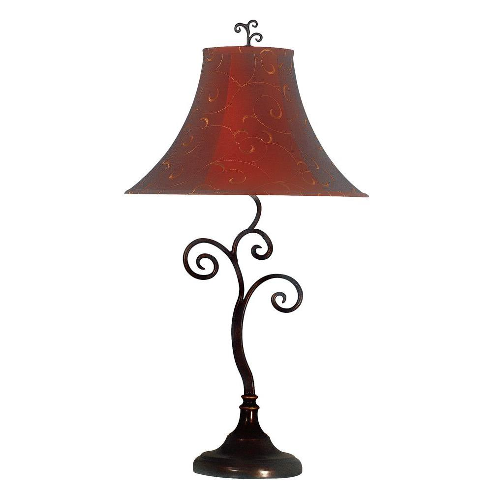 Kenroy Home Richardson 30 in. Bronze Table Lamp