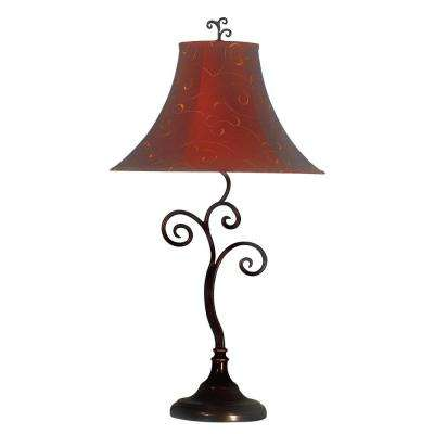 Richardson 30 in. Bronze Table Lamp