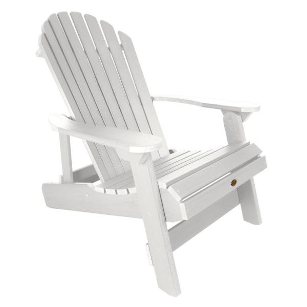 Highwood King Hamilton White Folding and Reclining Recycled