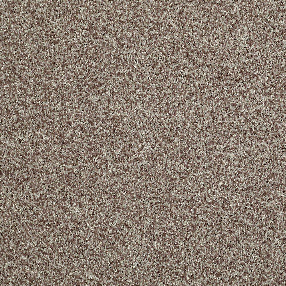 Home Decorators Collection Carpet Sample Opulence In Color Mocha Frost 8 In X 8 In Sh