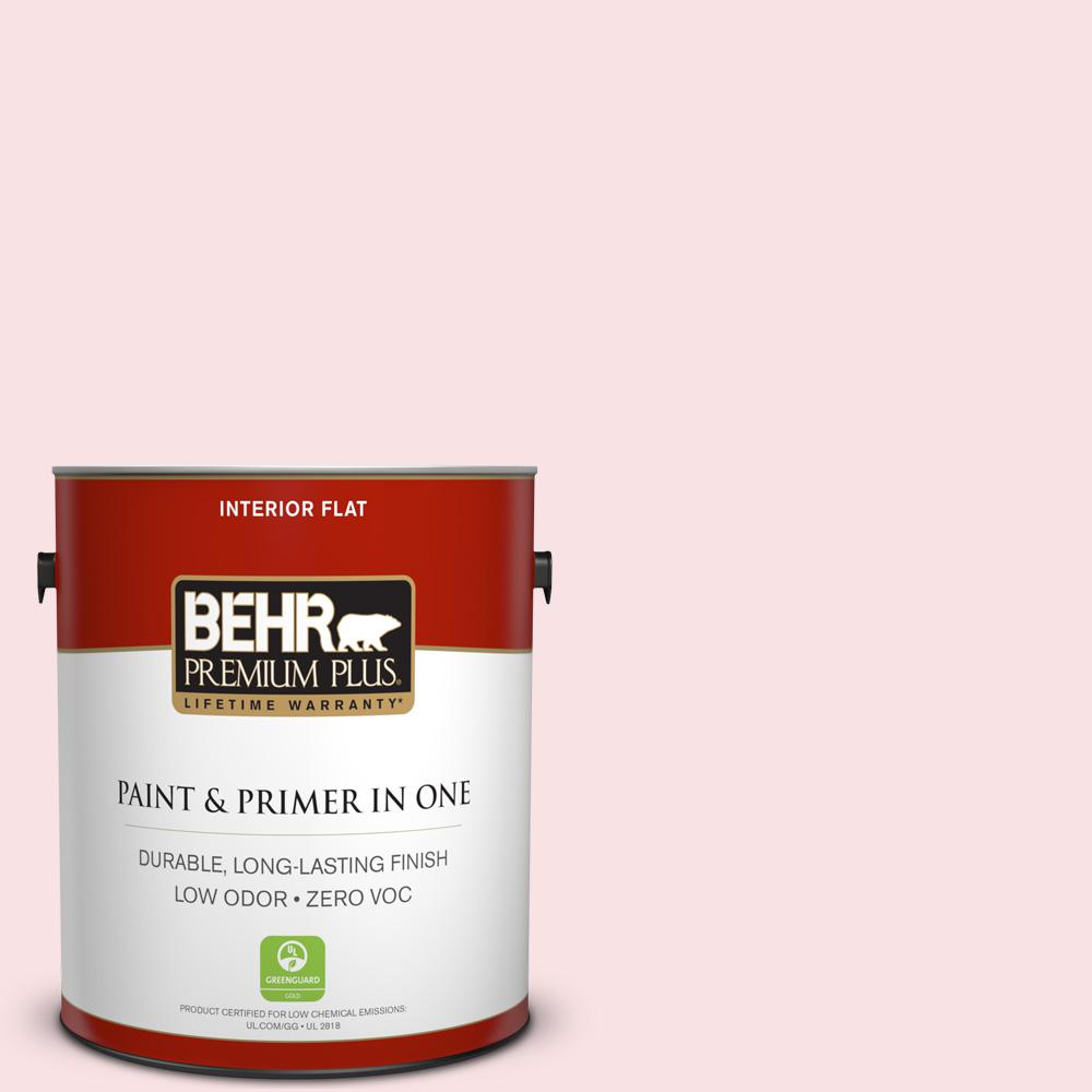 1-gal. #160A-1 Cream Rose Zero VOC Flat Interior Paint