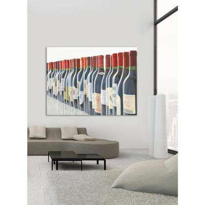 "54 in. x 72 in. ""Splendid Reds"" by Marco Fabiano Printed Framed Canvas Wall Art"