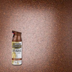 rust oleum universal 12 oz all surface aged metallic rust spray paint and primer in 1 285072. Black Bedroom Furniture Sets. Home Design Ideas