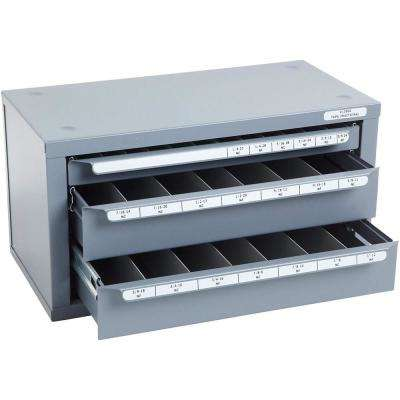 14-5/8 in. 3-Drawer Fractional Tap Tool Case