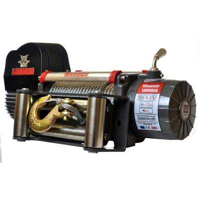 Samurai Series 12,000 lb. Capacity 12-Volt Electric Winch with 85 ft. Steel Cable