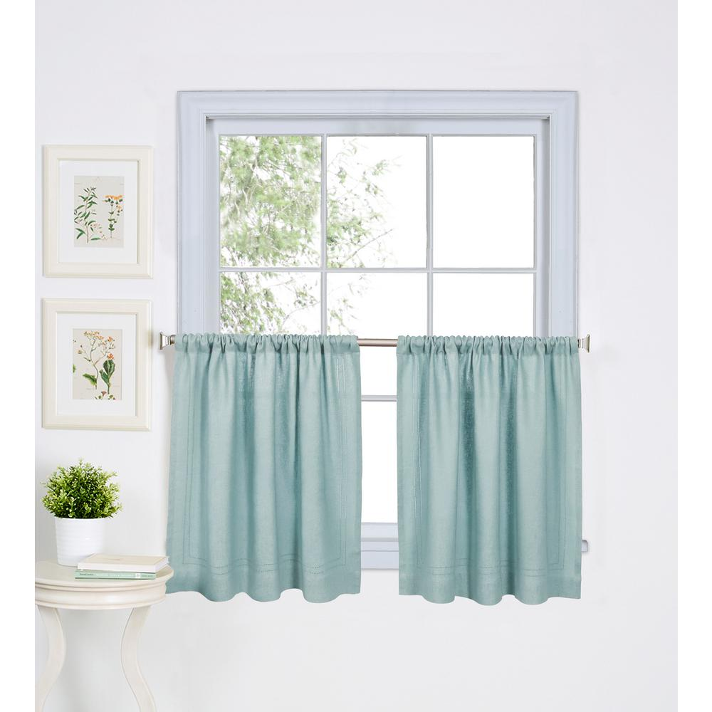 Semi-Opaque - Sage - Rod Pocket - Curtains & Drapes - Window ...