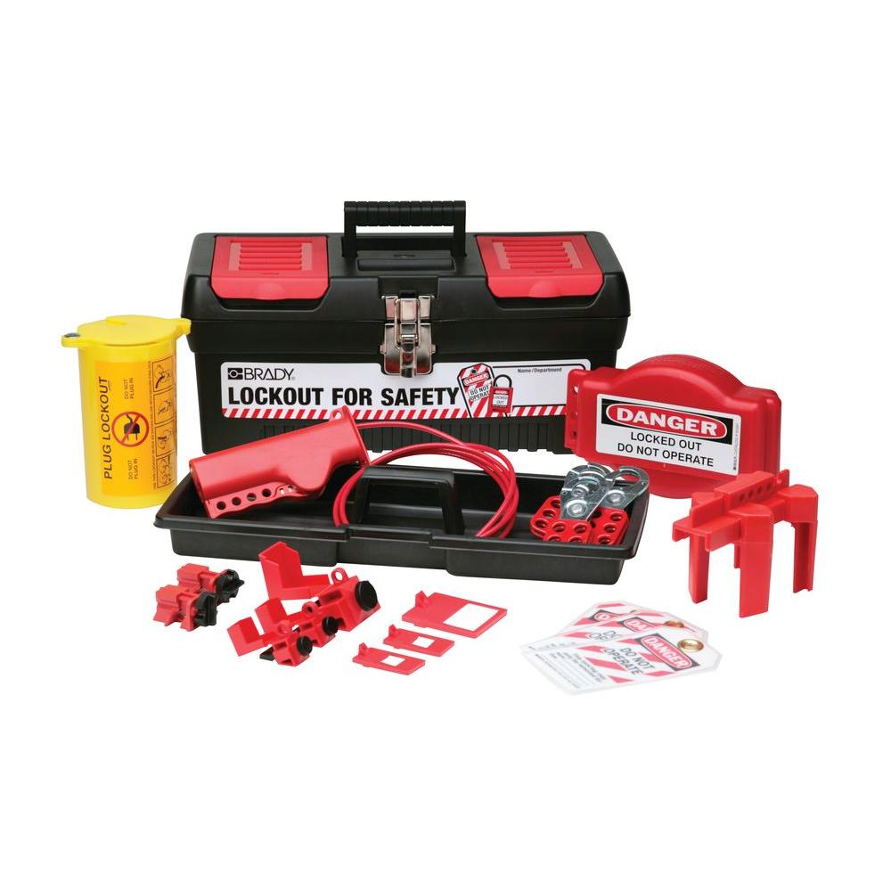 Brady Personal Valve and Electrical Lockout Kit