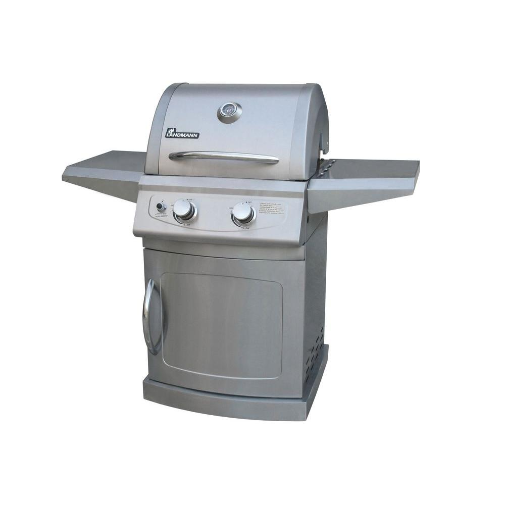 Landmann falcon series burner propane gas grill in all