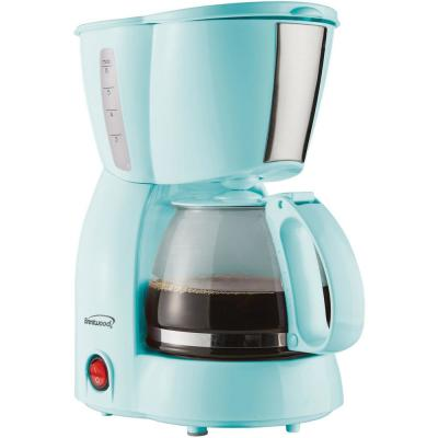 4-Cup Blue Coffee Maker