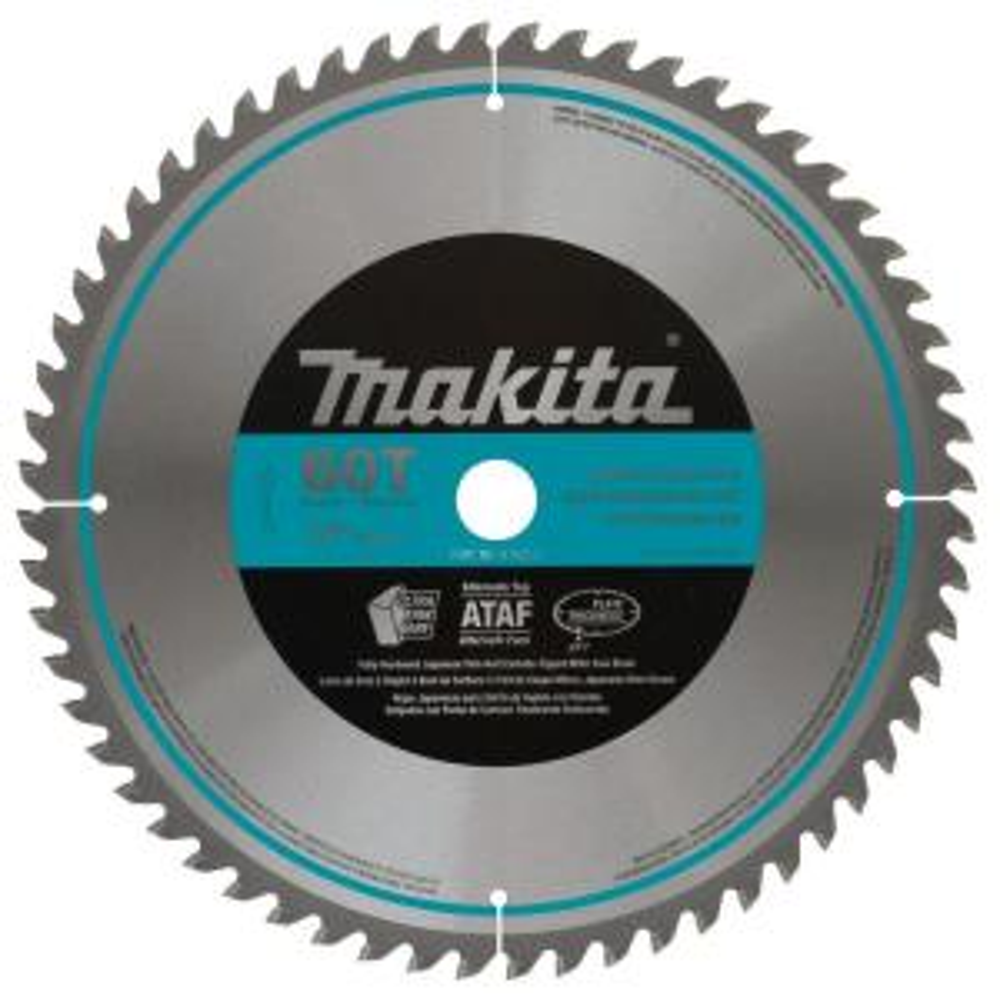 Makita 12 inch x 1 inch 60-Teeth Micro-Polished Miter Saw Blade by Makita