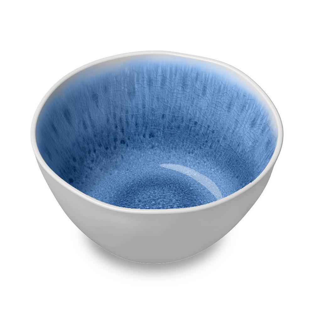Organic Radiant Glaze Indigo Bowl (Set of 6)
