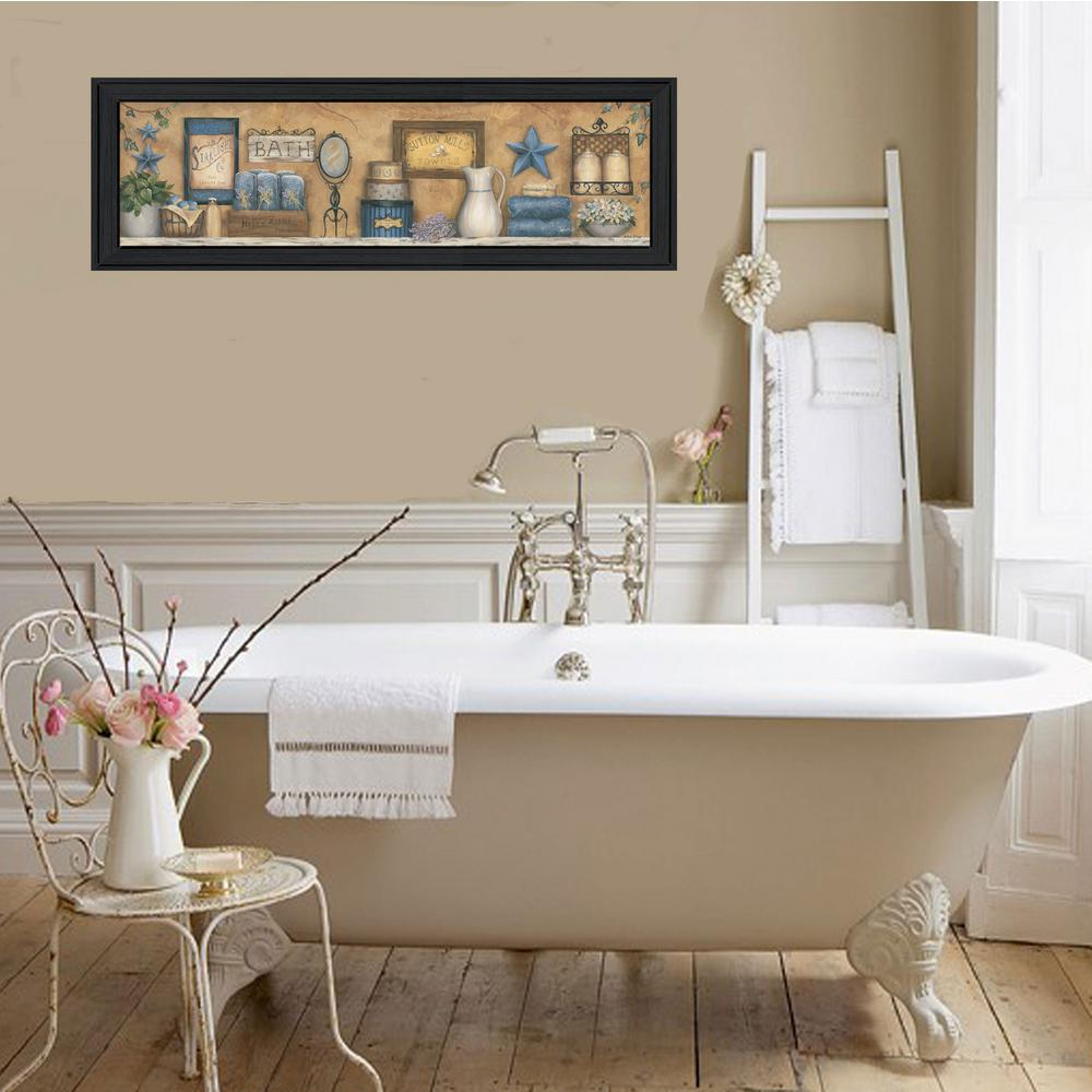 Starlight Bath By Carrie Knoff Printed Framed