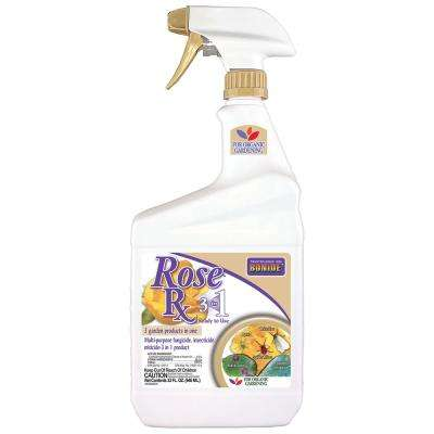 32 oz Rose Rx 3-in-1 Ready-To-Use Spray