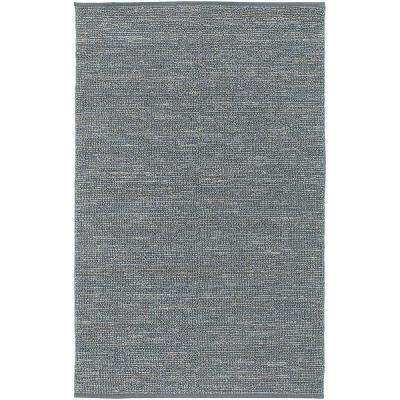 Rio Gray Blue 2 ft. x 3 ft. Area Rug