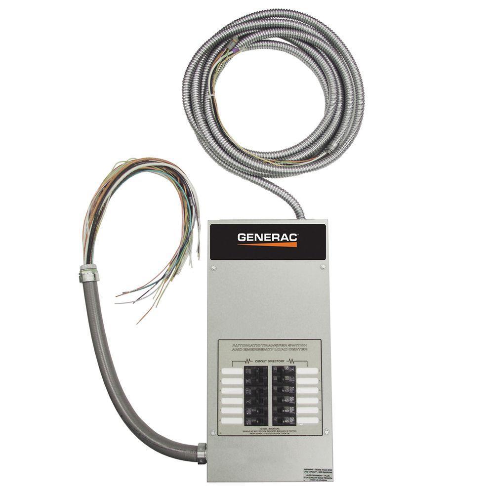 Generac 12-Circuit 50-Amp Load Center