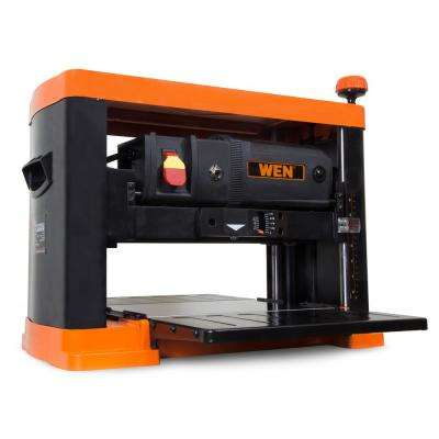 15 Amp 13 in. 3-Blade Benchtop Corded Thickness Planer