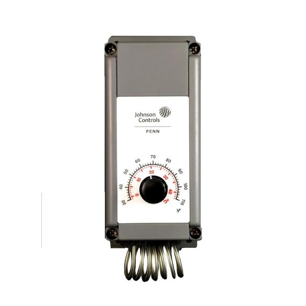 6 in. x 4 in. Single Stage Thermostat for Electric Ventilation System