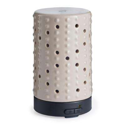 9.3 in. Inspire Ultrasonic Essential Oil Diffuser with 15 ml Essential Oil Bundle