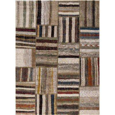 Diamond Urban Ivory 7 ft. 10 in. x 10 ft. 6 in. Area Rug