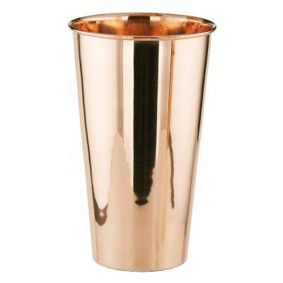 32 oz. Solid Copper Beverage/Smoothie Lassi Glass