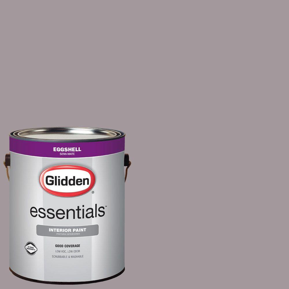 Phenomenal Glidden Essentials 1 Gal Hdgcn58 Warm Grey Flannel Eggshell Interior Paint Download Free Architecture Designs Jebrpmadebymaigaardcom