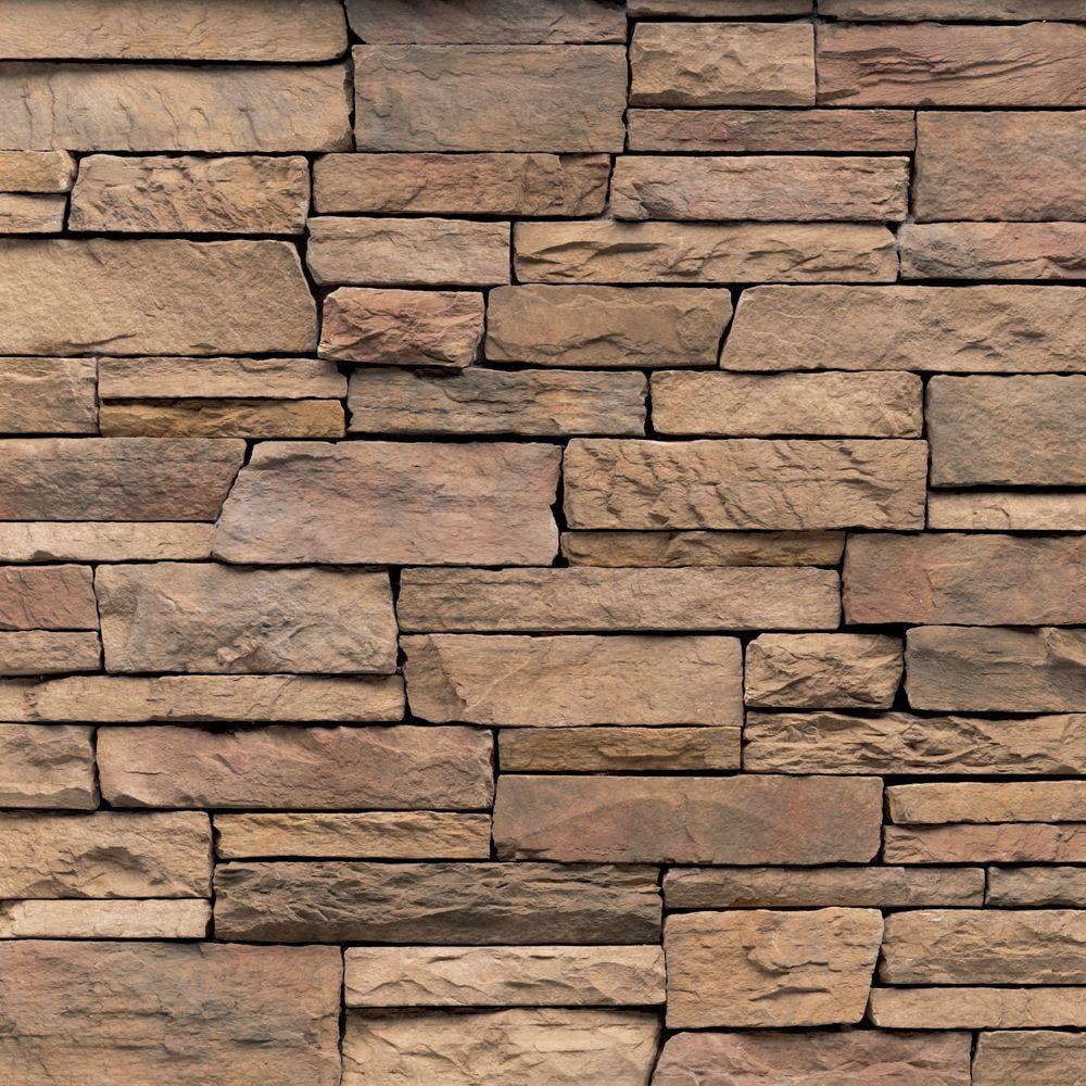 Veneerstone Pacific Ledge Stone Cordovan Flats 150 sq. ft. Bulk Pallet  Manufactured Stone