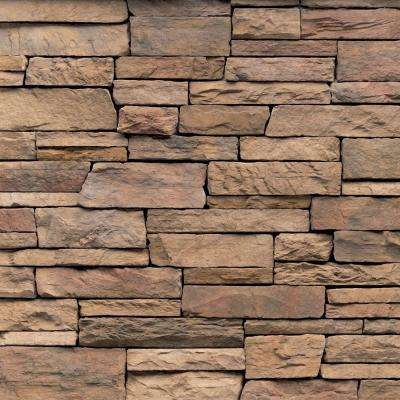 Pacific Ledge Stone Cordovan Flats 10 sq. ft. Handy Pack Manufactured Stone