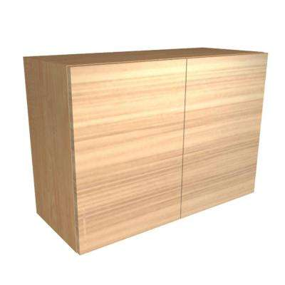 Monaco Ready to Assemble 36 x 21 x 12 in. Wall Cabinet with 2 Soft Close Doors in Beach