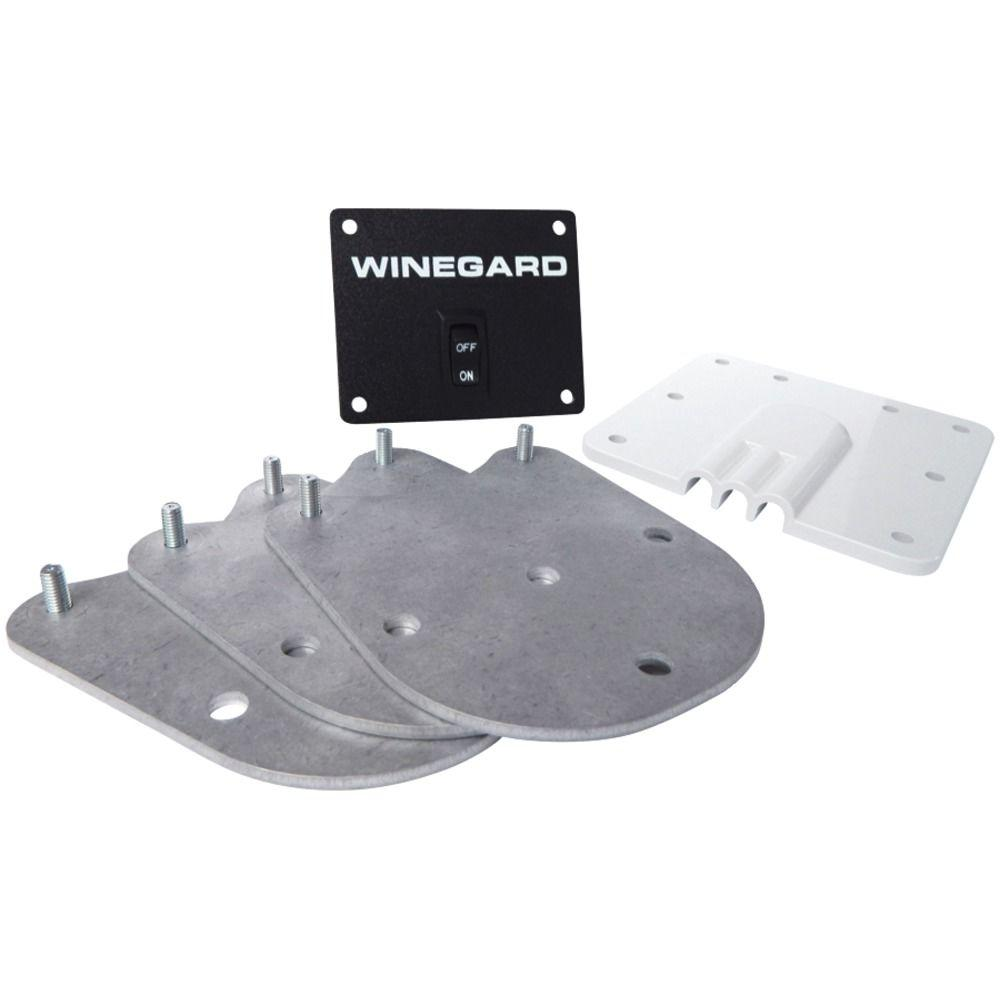 RK-2000 Roof Mount Kit, Grey And White