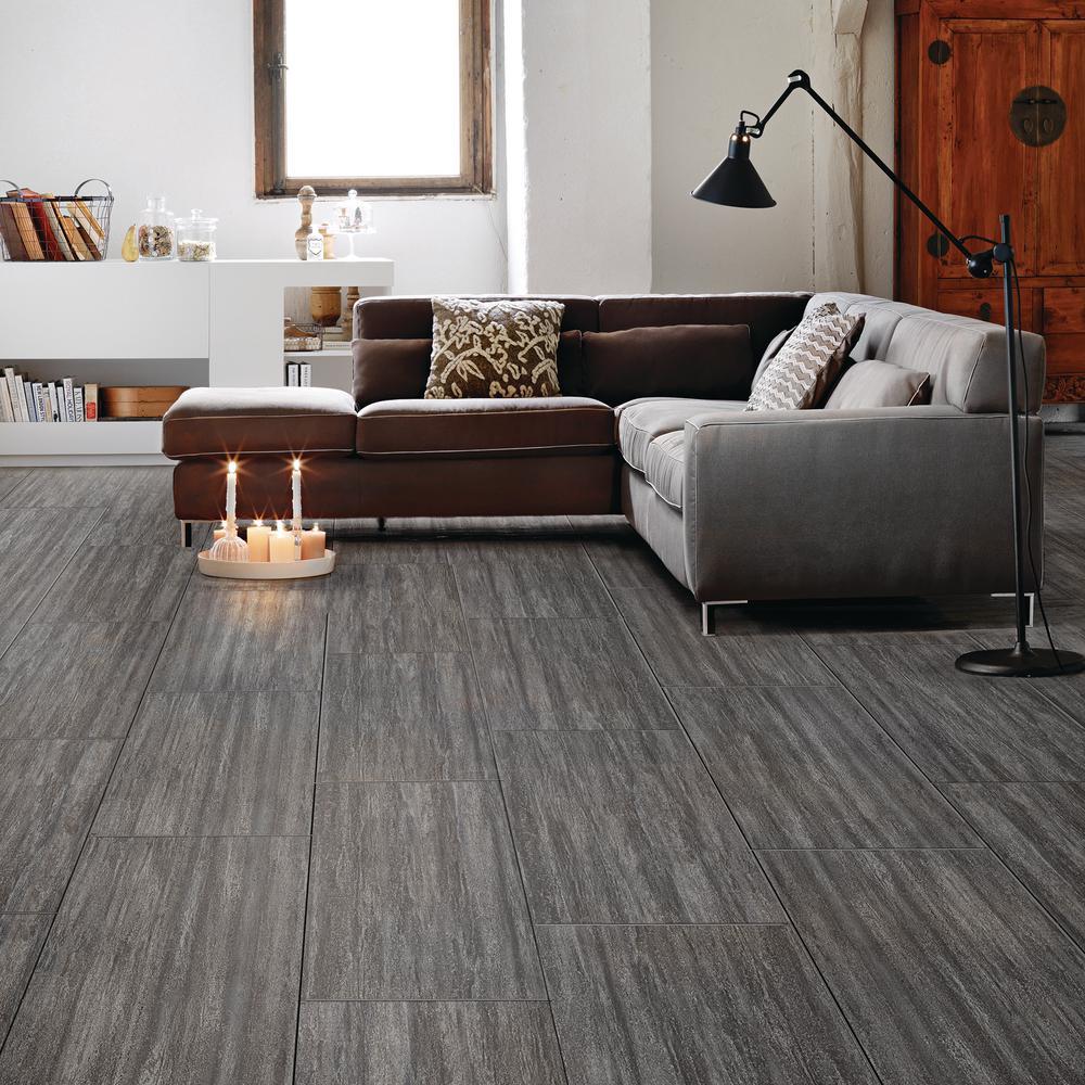 Luxury Vinyl Plank Flooring, Gray Vinyl Flooring Living Room