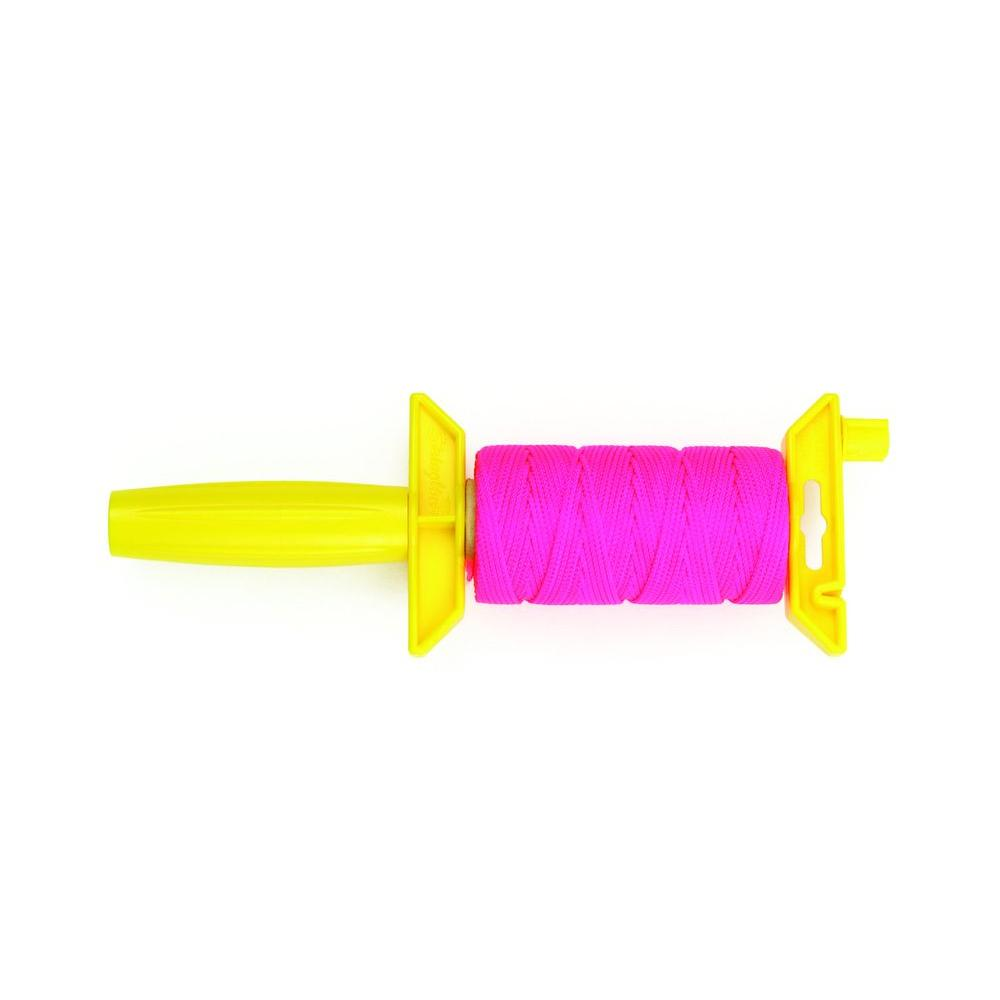 Crown Bolt #18 x 250 ft. Pink Nylon Premium Braided Mason Twine