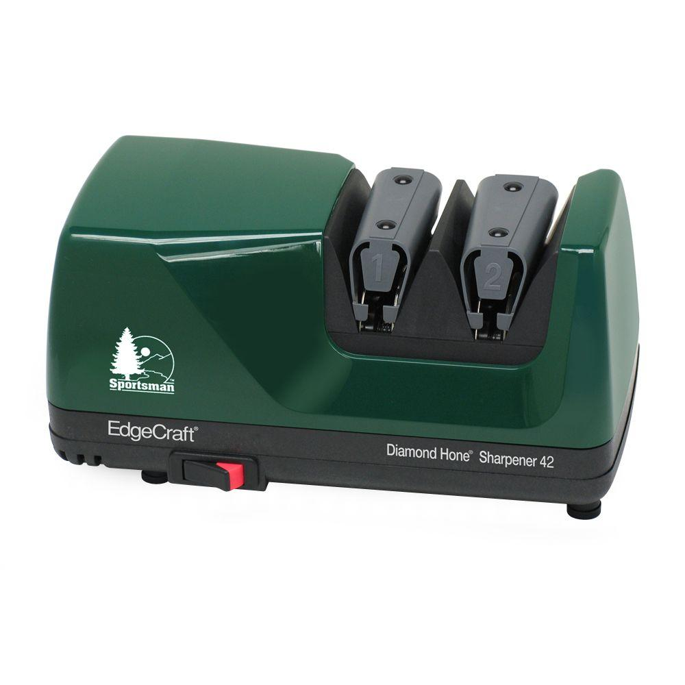 M42 Diamond Hone Knife Sharpener in Hunter Green Sports