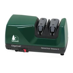 EdgeCraft M42 Diamond Hone Knife Sharpener in Hunter Green Sports by EdgeCraft