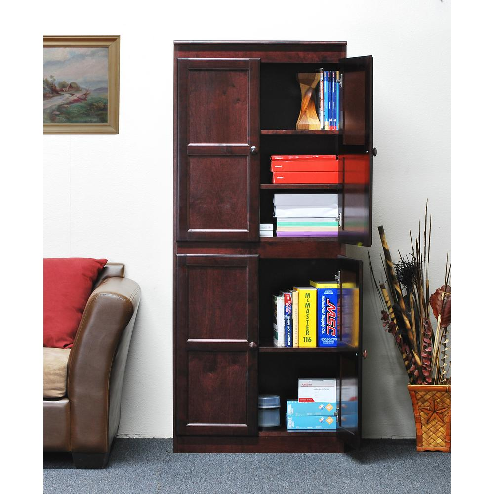 Concepts In Wood Multi-Use Storage Pantry in Cherry