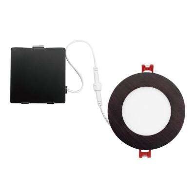 Oil Rubbed Bronze Integrated LED Recessed Kit  sc 1 st  The Home Depot & 4 in. - Bronze - Recessed Lighting Kits - Recessed Lighting - The ... azcodes.com