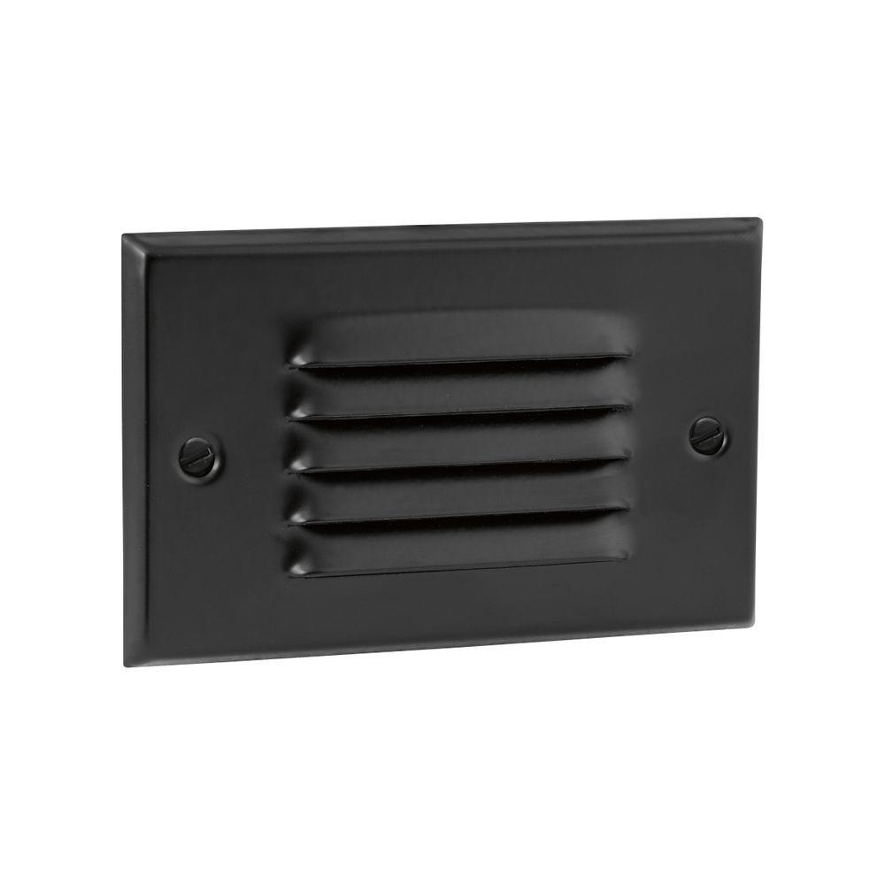 1-Light Black LED Step Light