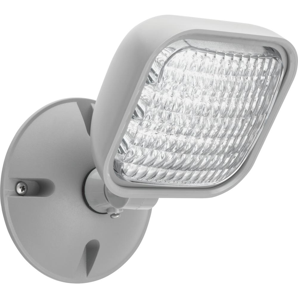 Lithonia Emergency Egress Lighting: Lithonia Lighting Contractor Select Thermoplastic Gray