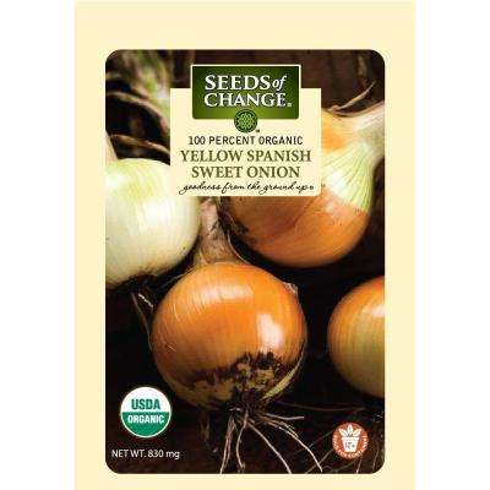 830 mg Yellow Spanish Sweet Onion Seeds