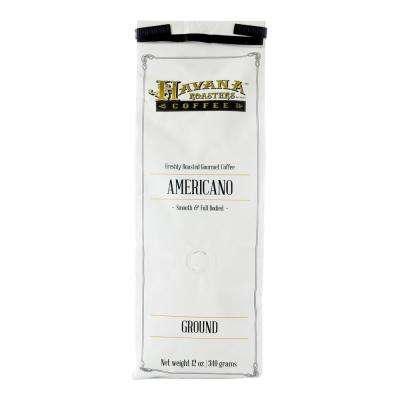 12 oz. Americano Coffee Grounds (12-Bags)